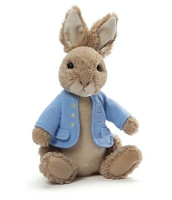 "Gund Classic Beatrix Potter 6.5"" Plush PETER RABBIT ~NEW~"