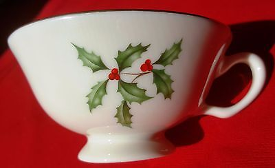 Lenox China Holiday (Dimension) SHALLOW COFFEE / TEA CUP - MINT CONDITION!!!