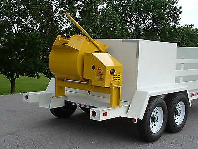 NEW  9 cubic foot Mortar/Cement Mixer from Curb King