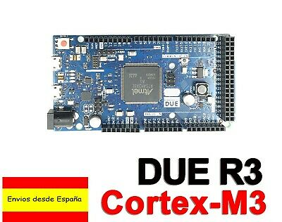 DUE R3 SAM3X8E ARM Cortex M3  84Mhz 100% Compatible Arduino cable USB B0028