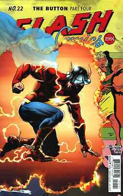 FLASH 22 VOL 5 THE BUTTON 1st PRINT NM SOLD OUT