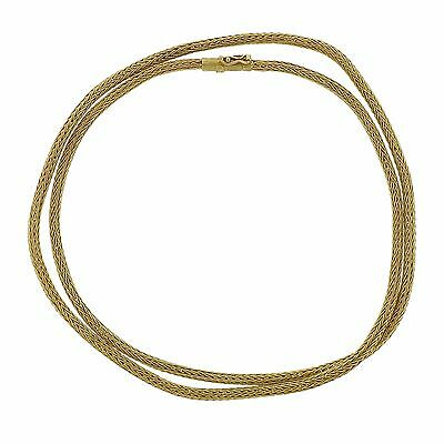 Ilias Lalaounis 18k Gold Long Chain Necklace