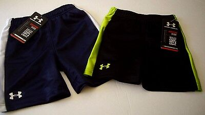 Brand New $20 Under Armour Kids Heatgear Shorts - Multiple Sizes & Colors