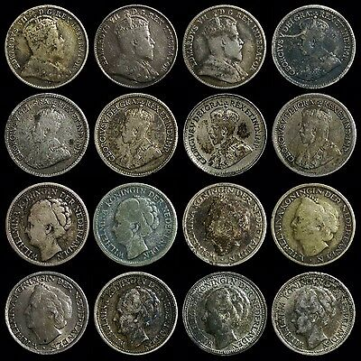 (16) World Silver Coins