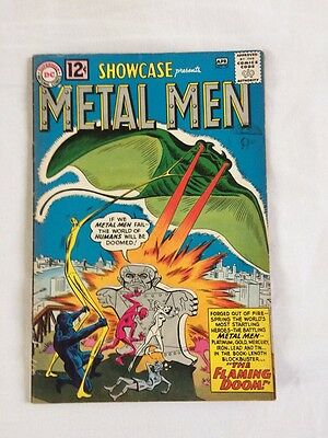 Showcase 37 Metal Men 1st Appearance Key DC Silver age hot first appearance Fn-