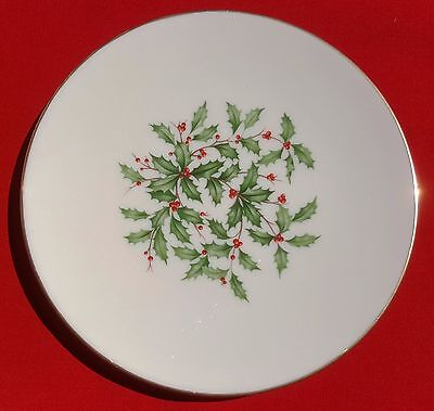 """Lenox China Holiday (Dimension / Presidential) 7 7/8"""" SALAD / SIDE PLATE - MINT!"""