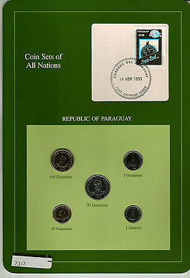 Nicely Packaged Uncirculated Coin Set From Paraguay