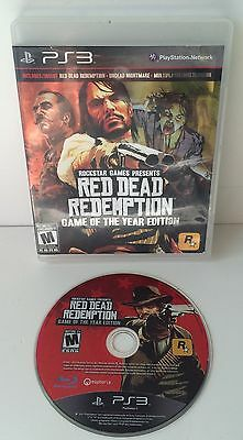 Red Dead Redemption Game Of The Year Edition Sony Playstation 3 PS3
