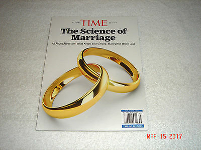 """TIME Magazine """" The Science of Marriage""""     2017     BRAND NEW"""