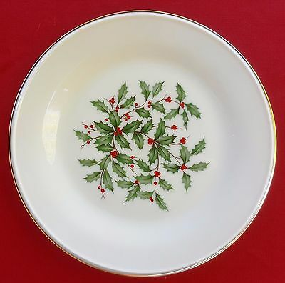 """Lenox China Holiday (Dimension / Presidential) 8 1/8"""" SALAD / SIDE PLATE - MINT!"""