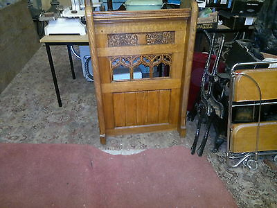 Antique Victorian Gothic Carved Oak Church Lectern