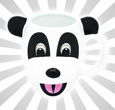 Hashtag the Panda 3D Face Universal Studios Ceramic Jimmy Fallon Coffee Cup Mug