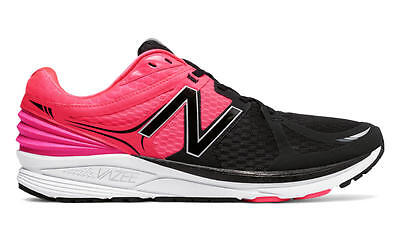 New Balance Men's Running Vazee Prism Shoes, Black with Pink