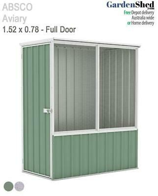 Absco Aviary 1.52m x 0.78m Bird Cage Aviary