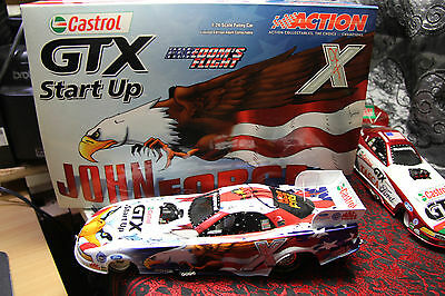 "John Force 2004  ""autographed"" Freeedom Of Flight Funny Car 1/24,  1 Of 1500"