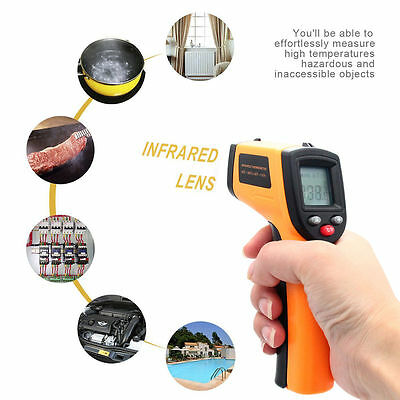 Digital Non-Contact IR Infrared Digital Temperature Thermometer Gun