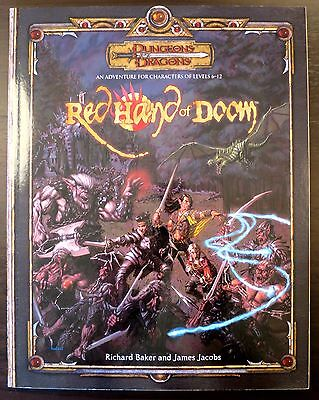 Red Hand of Doom - 3.5 Dungeons & Dragons - Excellent+ Condition