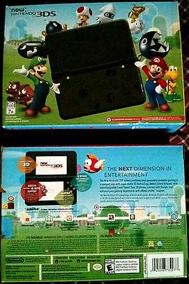 Brand New in Box Nintendo 3DS Special Limited Mario Black Edition Console System