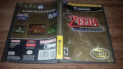 The Legend Of Zelda Wind Waker Windwaker Plc Nintendo Gamecube Ex+Nm Complete-!