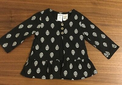 NEW Without Tags  Carter's Baby Girl  Cotton Cardigan Size 3M