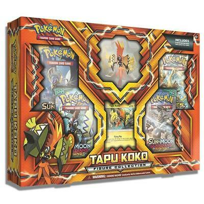 POKEMON TCG Tapu Koko Figure Collection - Includes 4 booster packs