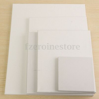 3/5Pcs Wooden Blank Stretched Canvas Board Frame For Oil Acrylic Paint 15-50cm