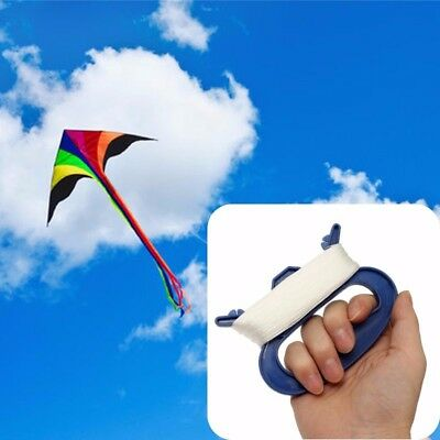 30/50/100m Outdoor Kids Flying Kite Line String With D Shape Winder Handle Board