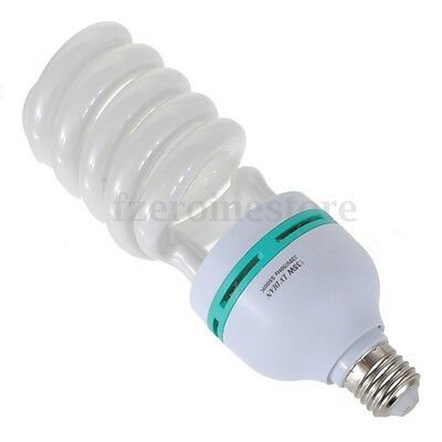 135W 5500K E27 Photo Studio Bulb Lighting Photography Daylight Lamp Energy Save