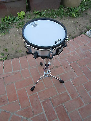 """Roland PD-125sx  12"""" Mesh Head V Drum Snare Pad PD125 pd-125 sx w/ SNARE STAND"""