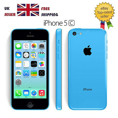 Factory Unlocked Apple iPhone 5C 32GB Smartphone UK Stock Sim Free