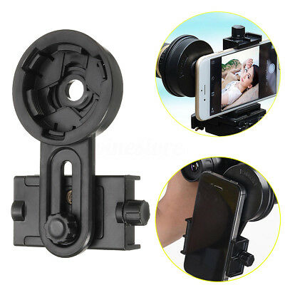 Universal Astronomical Telescope Smart Phone Camera Mount Holder Adapter Clip