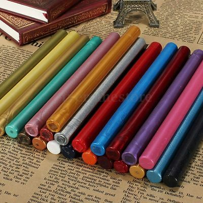 Traditional Colours Sealing Stamp Wax Stick Melting Gun For Wedding Invitation