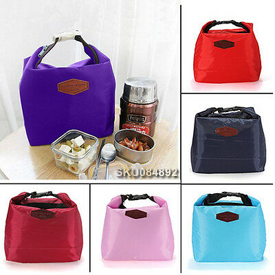 Thermal Tote Cooler Insulated Portable Waterproof Lunch Picnic Storage Bag Box