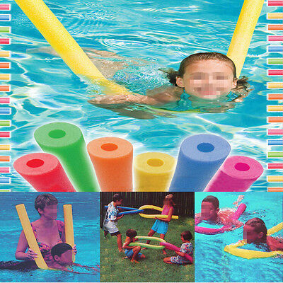 Swimming Swim Pool Noodle Water Float Aid Woggle Noodles Hollow First Class Post