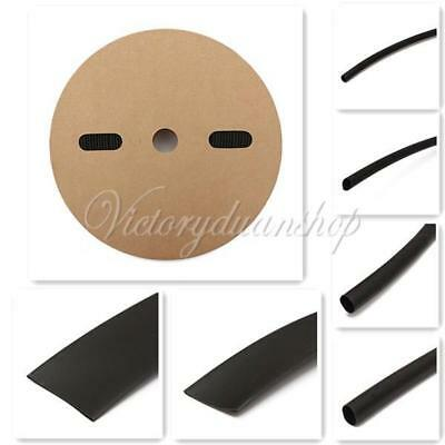 Polyolefin Heat Shrink Tubing Spool 2:1 HeatShrink Tube Roll Reel Sleeve 6 Sizes