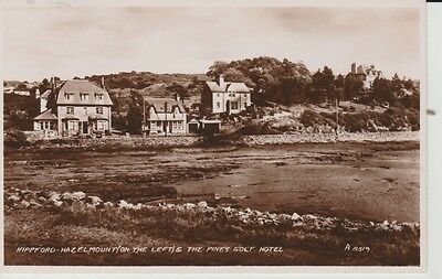 RP 1950 KIPPFORD - Hazelmount (on the left) & The Pines Golf Hotel