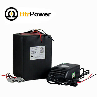 60V 35Ah LIthium Li-ion Battery Built In BMS Battery Backup Power with a Charger
