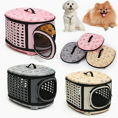 Pet Dog Cat Rabbit Puppy Kitten Carrier Portable Cage Crate Transporter Bag New