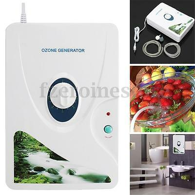 Ozone Generator Ozonator 220V/110V 600mg/h Air Purifier Water Food Sterilizer