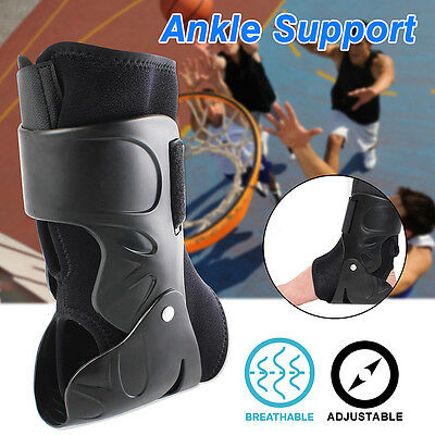 Medical Ankle Support Brace Foot Guard Sprains Injury Wrap Elastic Splint Strap
