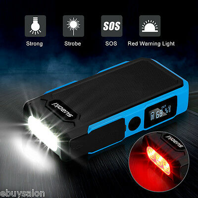 20000mAh 12V 800A Voiture Auto Jump Starter Batterie Chargeur Urgence Booster
