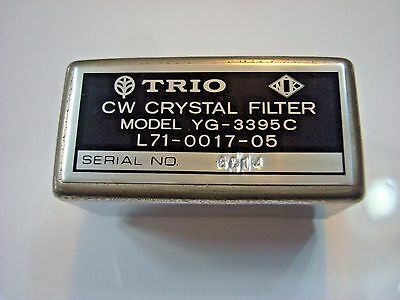 Kenwood TRIO YG-3395C 250Hz CW Filter for TS-520 TS-511 etc operation guarantee!