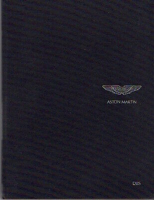Aston Martin DBS 2006 Pebble Beach media brochure UK Original