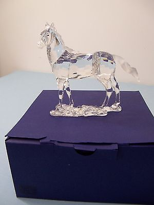 Large Swarovski Crystal Mare Horse Figurine - Mint Condition w/ Box - Item 2906