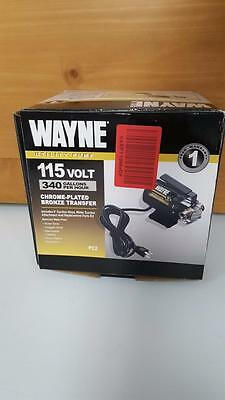 New WAYNE Transfer Utility Pump 115 V 340 GPH w/ Repair Parts