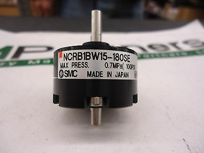 NCRB1BW15-180SE, SMC, Rotary Actuator-15mm, BRAND NEW!