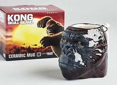Kong Skull Island Figural Mug Loot Crate DX Exclusive New in Package King Kong