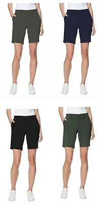 NEW Ladies' 32 Degrees COOL Woven Casual Cargo Shorts - Stretch Fabric