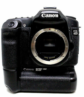 Canon EOS 40D 10.1MP Digital SLR Camera - Body Only with Battery Grip (USED)