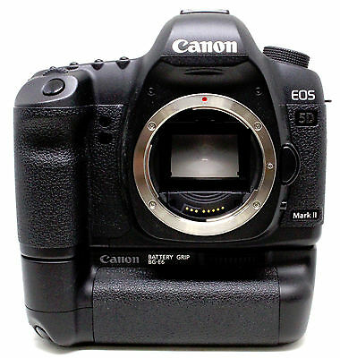 Canon 5D Mark II 21.1 MP Digital SLR Camera Body Only with Battery Grip (USED)